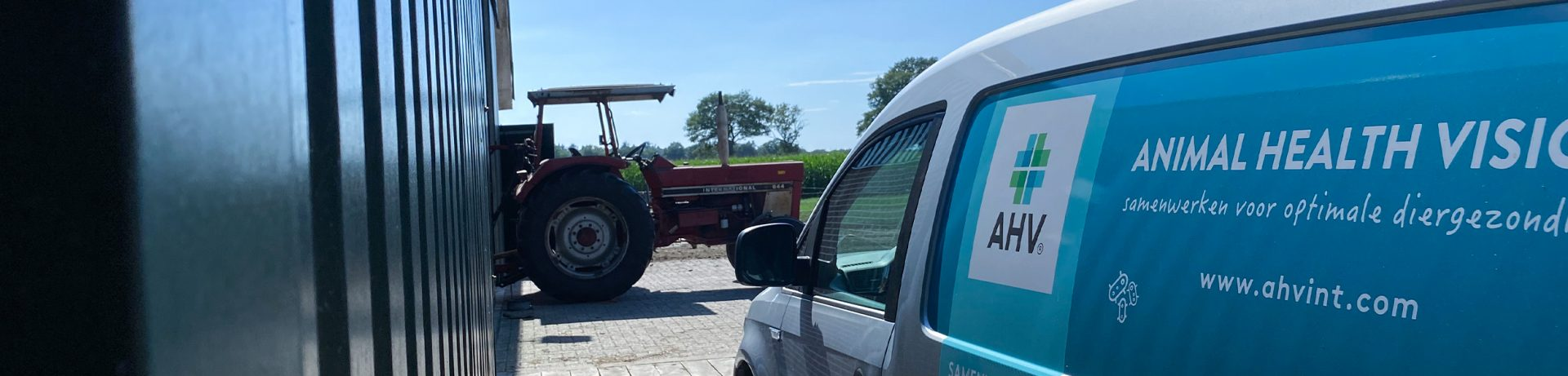 AHV car with tractor