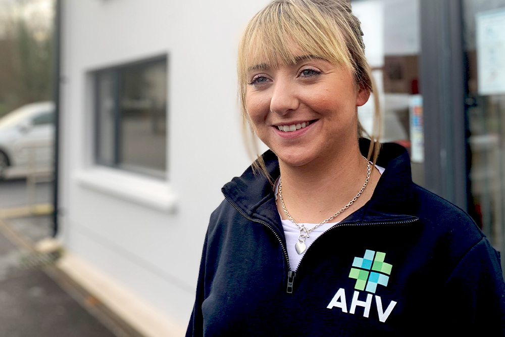 AHV advisor Catherine