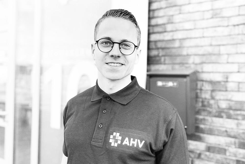 AHV employee Joost